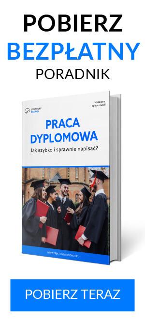 e-book praca dyplomowa jak napisać szybko, sprawnie i bezepiecznie